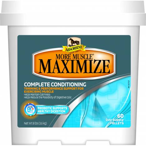 Absorbine More Muscle Maximize Bucket-60 Day