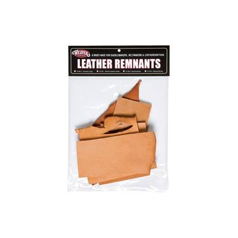Weaver Leather Remnant Bags - Harness Leather