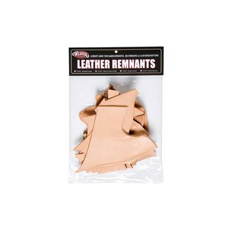 Weaver Leather Remnant Bags - Skirting Leather