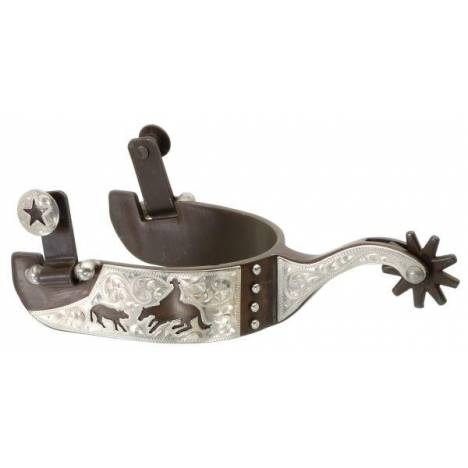 Kelly Silver Star Cutting Horse Spur