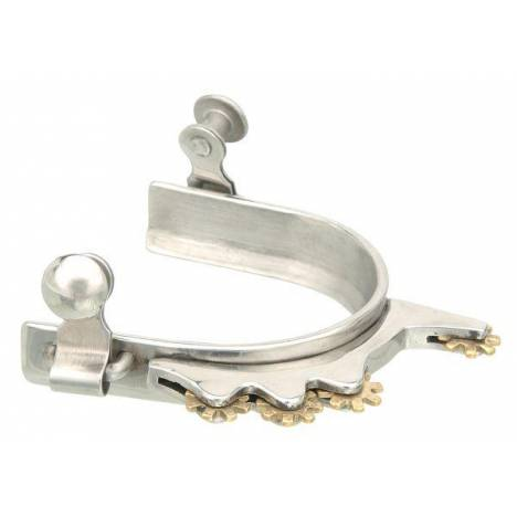 Kelly Silver Star Ladies' Humane Rowel Spur