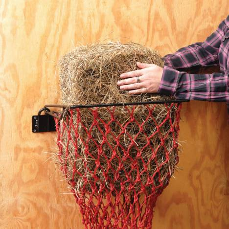 Tough 1 Easy-Loading Hay Hoops with Nets