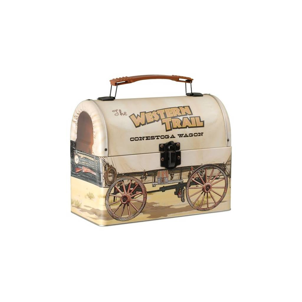 Gift Corral Covered Wagon Lunch Box