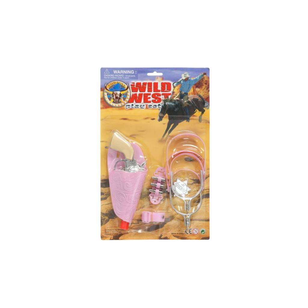 Gift Corral Wild West Pink Play Set