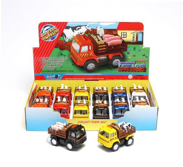 12 Pack Farm Trucks