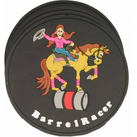 Barrel Racer Coaster Set