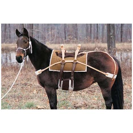 Weaver Sawbuck Pack Saddle with Leather