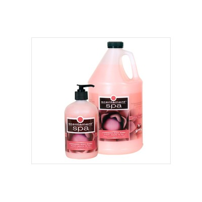 Best Shot Scentament Spa Body Wash Apple & Lily (PINK) - 1 gal