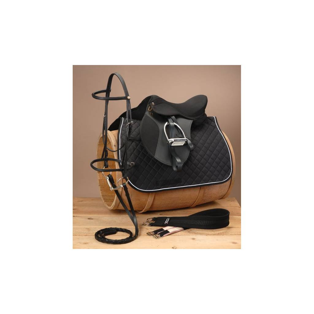 EquiRoyal Youth Pro Am All Purpose Saddle Package - Wide