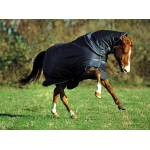 Amigo Bravo Turnout Blanket - Heavy Weight - Navy Navy White - 66