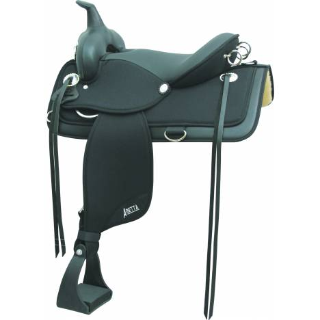 Abetta Brush Popper Flex-Trail Saddle