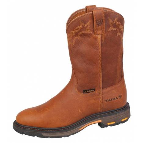 Ariat Mens Workhog Pull On - Golden Grizzley