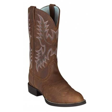 Ariat Womens Heritage Stockman - Driftwood Brown