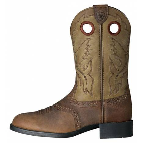 Ariat Heritage Stockman Kids - Brown Bomber
