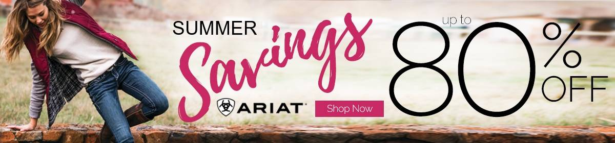 Ariat Summer Clearance