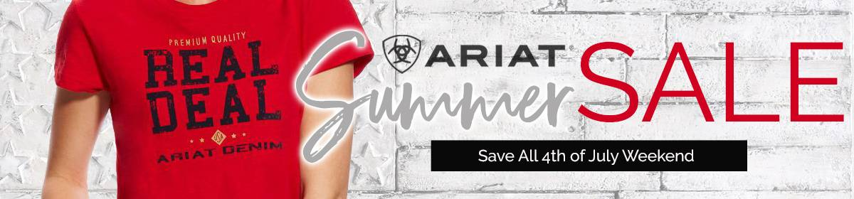 Ariat Summertime Clearance Sale