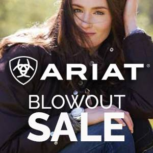 Ariat....now this is a sale!<br>500+ NEW Closeouts
