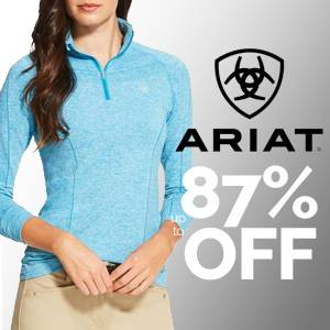 Brand New Markdowns!<br>Ariat Liquidation Up to 87% OFF