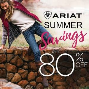 Ariat Spring into Summer Clearance!