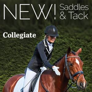 NEW! Collegiate Saddlery<br>Quality Without Compromise