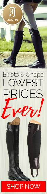 Justin English Boots & Chaps Sale