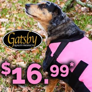 NEW! Gatsby Waterproof Dog Blankets<br>As low as $16.99