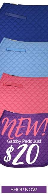 gatsby Saddle Pads Just $20