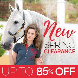New! Horseware Spring Clearance<br>Up to 85% OFF