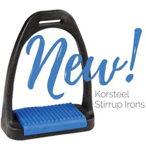 NEW! Korsteel Polymer Stirrup Irons<br>FREE Spurs With Every Purchase