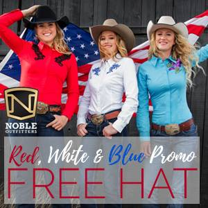 Noble Outfitters Red, White & Blue Promo