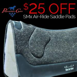 Saddle Up! Instant $25 OFF on SMx Air-Ride Saddle Pads