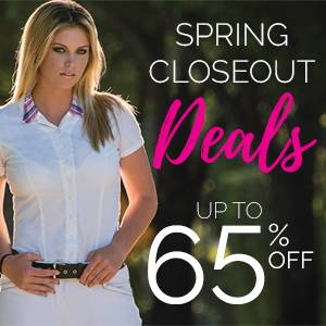 Spring Closeout Deals Up to 65% OFF