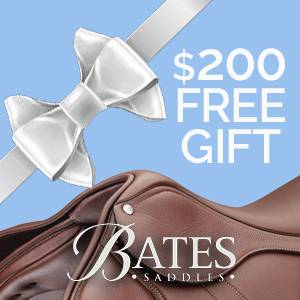 $200 FREE Gifts With Bates Saddle