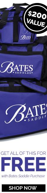Bates Saddle Gift With Purchase