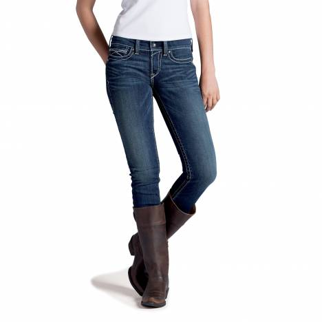 Ariat Ladies R.E.A.L. Whipstitch Skinny Jeans- Ocean