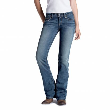 Ariat Ladies Ruby Copper A Bootcut Jeans- Lonestar
