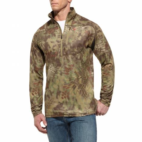 Ariat Kryptek 1/4 Zip - Mens, Olive Mandrake