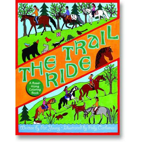The Trail Ride Coloring Book