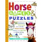 Horse Games & Puzzles Book for Kids
