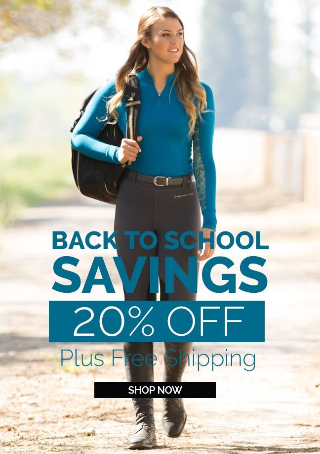 Back to School Savings!  Free Shipping + 20% OFF Everything*