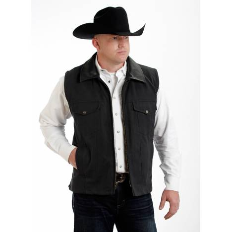 Colorado Saddlery Conceal Carry Vest -Black