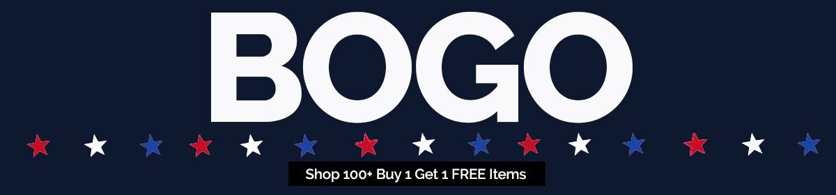 BOGO: Buy 1 Get 1 FREE Sale