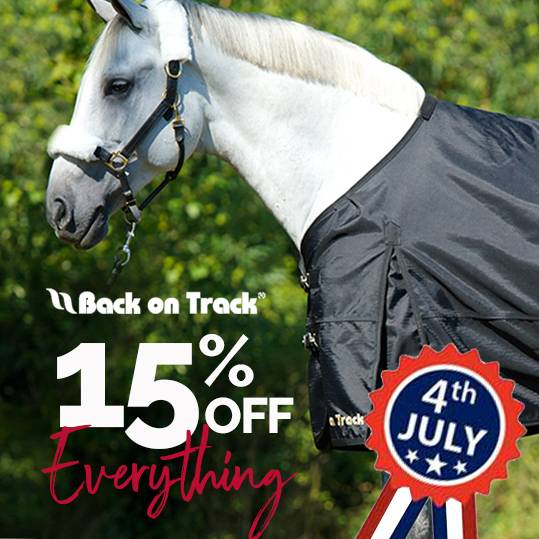 4th of July Weekend Starts Now!<br>Back on Track Everything on Sale