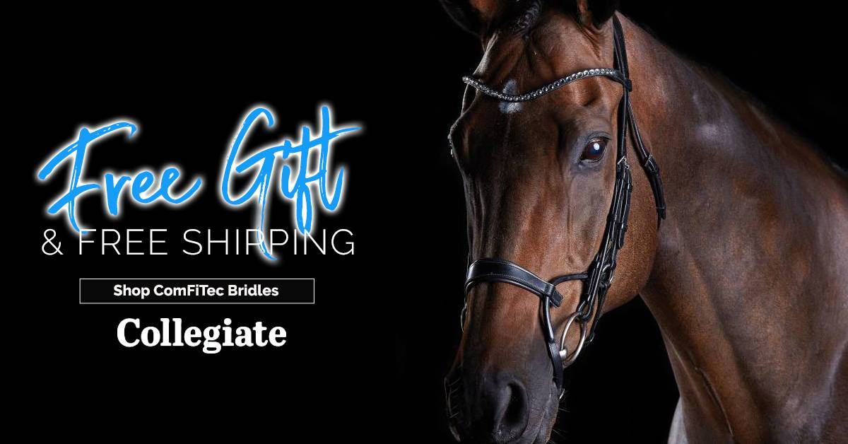 Collegiate ComFiTec Bridles 5 Styles Available + FREE Gift & Shipping
