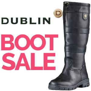 Dublin Lifestyle Boots Sale!<br>FREE Dublin Sachi Jacket Valued at $90.00