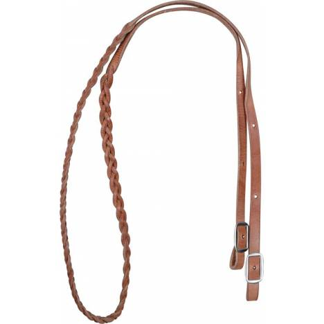 "Marin Saddlery 5/8"" 3 Plait Barrel Reins"