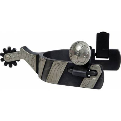 """Classic Equine Cowboy Series 1"""" Band with Chap Guard Spur"""