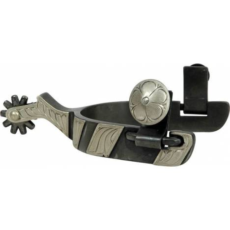 """Classic Equine Cowboy 3/4"""" Band with Chap Guard Spur"""