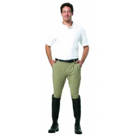 Ovation Men's Euroweave Pleat Knee Patch Breech