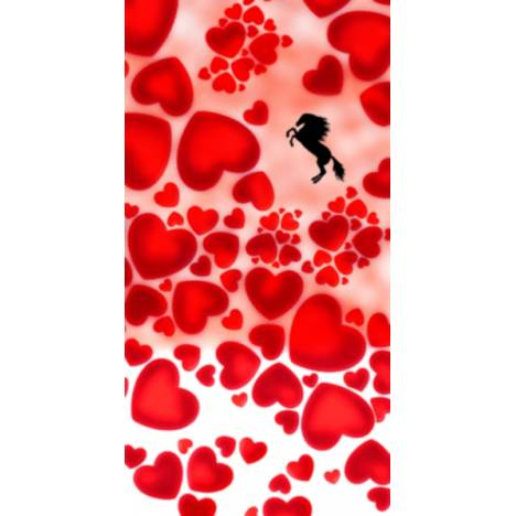 Equestrian Couture Knee-High Boot Socks - Hearts